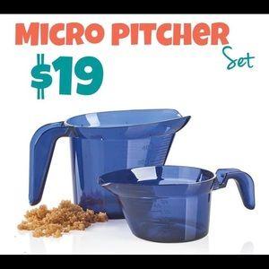 Tupperware Micro Pitcher Set